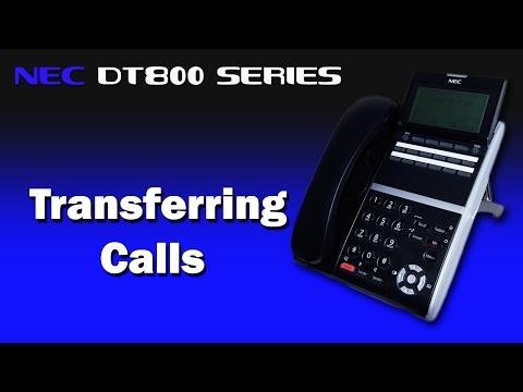 NEC DT800 Series - Transferring Calls