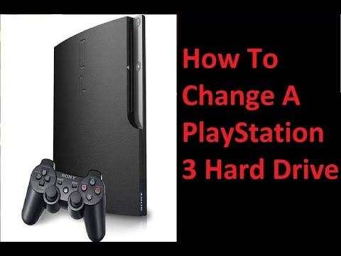 How to Change a PlayStation 3 Hard Drive- DIY