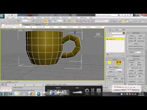 cup in 3Ds max