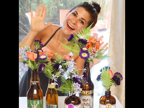 One Minute Flowers: Bud Vases DIY - The Flower Chef