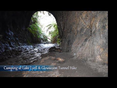 Camping at Lake Lyell and Glowworm Tunnel Hike