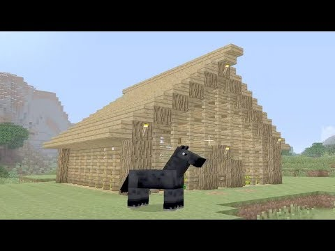 Let's Play Minecraft Episode 2 - Wheat House Farm
