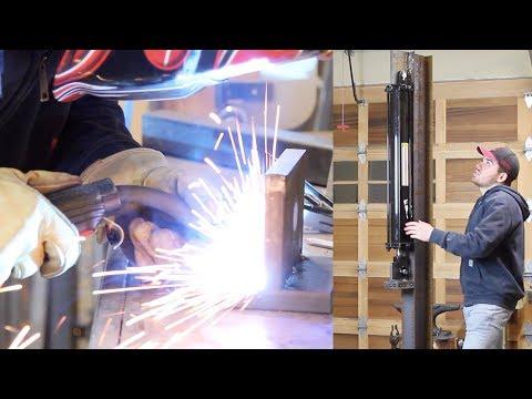 Building a Hydraulic Forging Press - Part 1