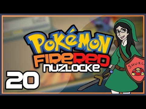Pokémon Fire Red Nuzlocke - Part 20: CARD KEY 2.0