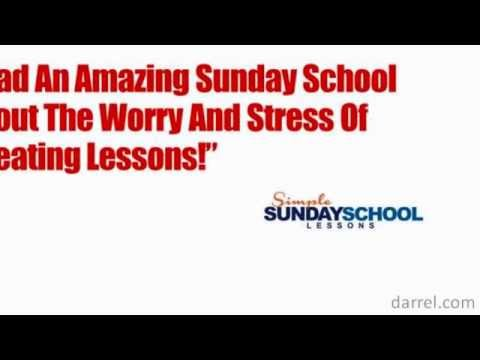 Lesson Plans For Home Schoolers and Sunday School Teachers