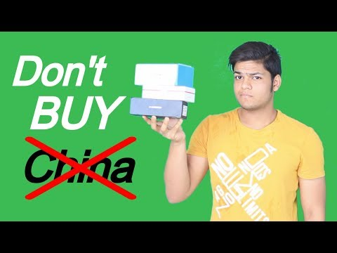Don't Buy Chinese Smartphones !
