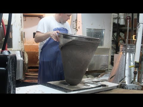 Making Felt Hat Bodies at Winchester Hat Corporation