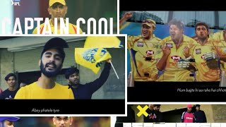MS DHONI RAP SONG| MI VS CSK RAP BATTLE| IPL 2019