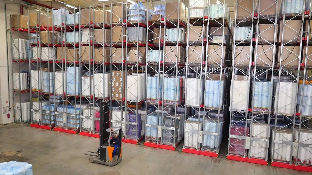 UCGE DRS AUTOMATED MOBILE RACKING SYSTEMS