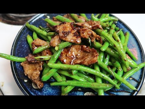 Easy Chinese - Stir Fry Beef and Green Beans - Cooking Vlog #8