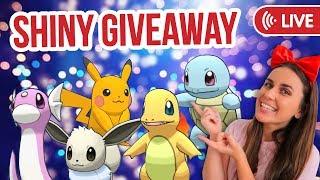 SHINY POKÉMON GIVEAWAY! Pokémon Let