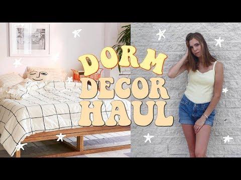 DORM DECOR HAUL 2017