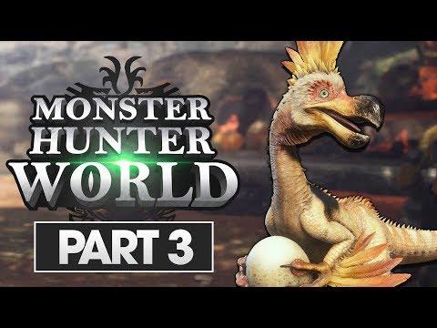 Monster Hunter World Walkthrough Part 3: Kulu-Ya-Ku