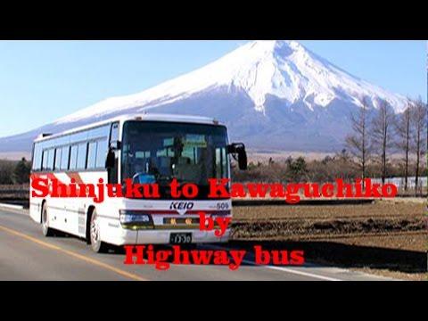 Tokyo to Kawaguchiko by Highway bus