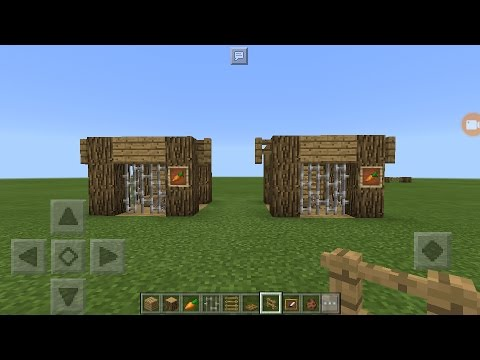 MineCraft- How To Make Rabbit Pen?!