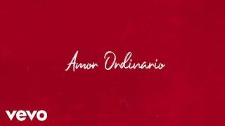 Danna Paola - Amor Ordinario (Lyric Video)