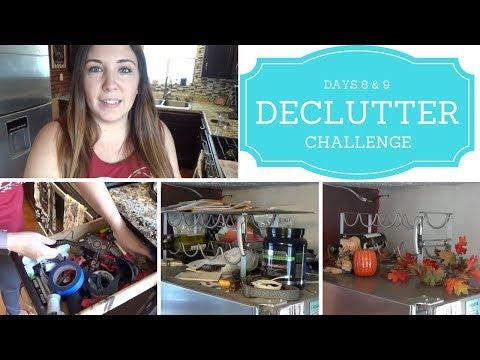 30 Day Decluttering Challenge - Days 8 & 9