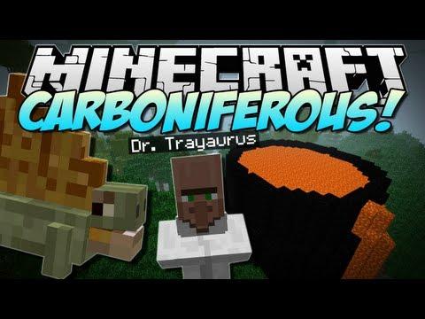 Minecraft | CARBONIFEROUS! (NEW Prehistoric Dimension!) | Mod Showcase [1.5.2]