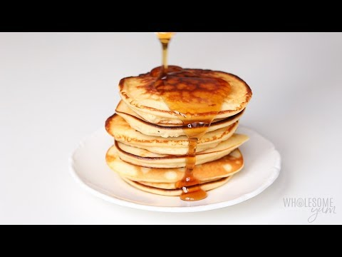 Easy Coconut Flour Pancakes Recipe With Cream Cheese - Low Carb