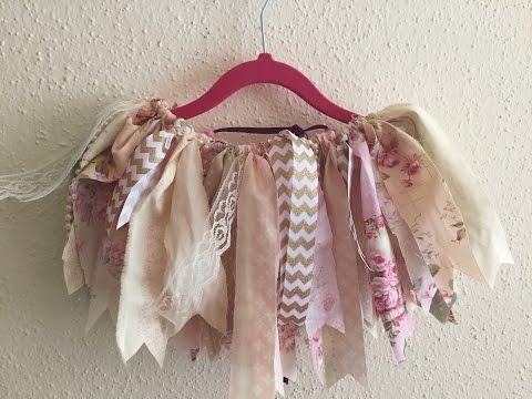 DIY - fabric tutu