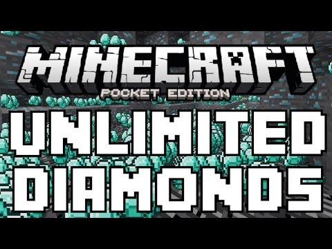 0.12.0 BETA UNLIMITED DIAMONDS TRICK - MCPE INFINITE ITEMS GLITCH - Minecraft PE (Pocket Edition)