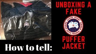 canada goose parka unboxing