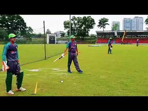 Highlights of Pakistan U-19 team practice at Kinrara ground Malaysia, Sportswire Pakistan