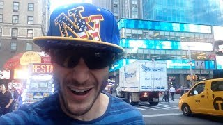 Overly Excited Tourist Goes Berserk In New York City