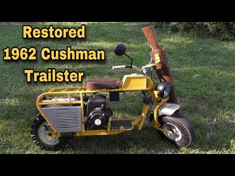 Taryl's Toys -Finished 1962 Cushman Trailster - The Silent Hunter