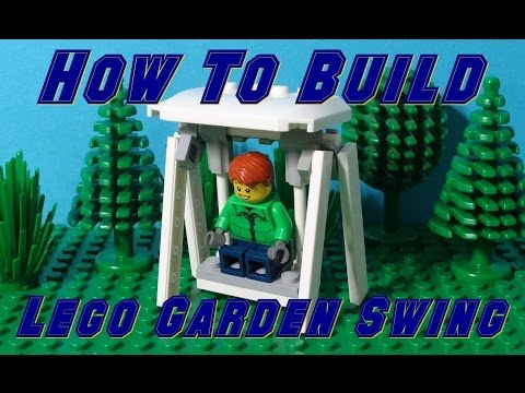 How To Build A Lego Garden Swing Chair