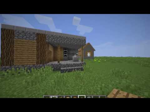 Minecraft-How to build a village blacksmith