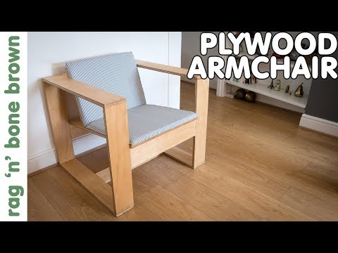 Making A Plywood Armchair - John Heisz Collaboration