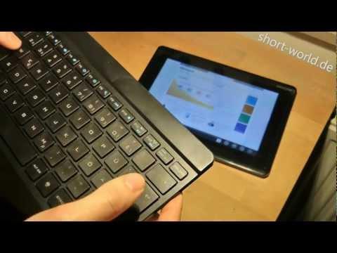 UltraSlim Bluetooth Keyboard - Review - Periboard-804