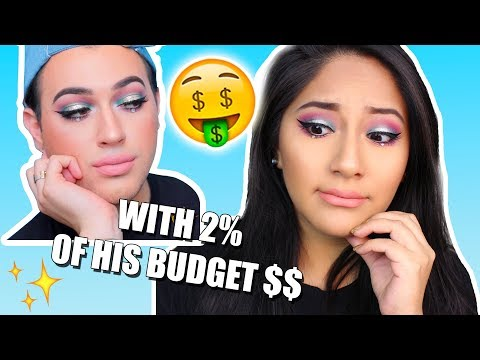 I TRIED FOLLOWING A MANNYMUA MAKEUP TUTORIAL!...SOO expensive lol I'm BROKE!