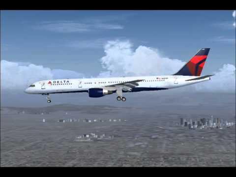 Delta Flight 2116 declares Emergency (FS2004)