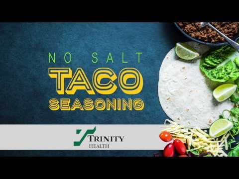 No Salt Taco Seasoning