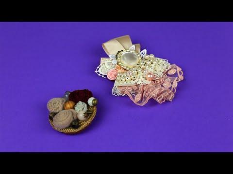 DIY Vintage Brooches