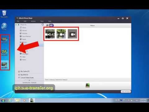 [iPhone 5S Videos to PC]: How to Transfer/Backup Videos/Movies from iPhone 5S to PC