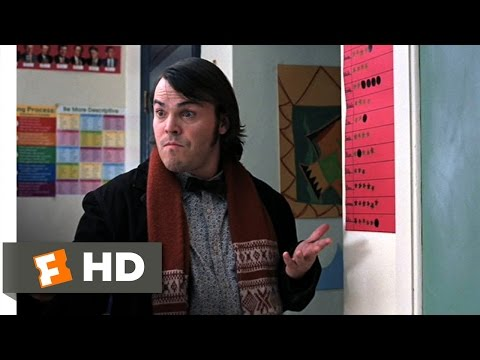 The School of Rock (2/10) Movie CLIP - Hung Over (2003) HD