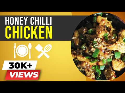 Honey Chilli Chicken - Healthy Indian Chinese Recipe - BeerBiceps Chicken Recipes
