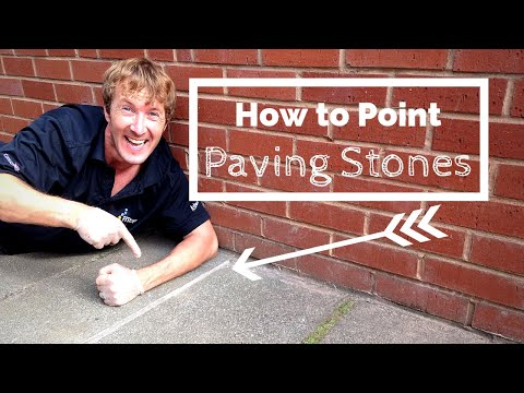 How to Point Paving Stones - a Simple Patio Jointing Guide for Beginners