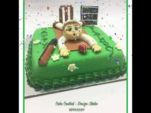 Cricket Cake Delhi | Sport themed Designer Birthday Cakes | Order Buy Cake Delivery Delhi
