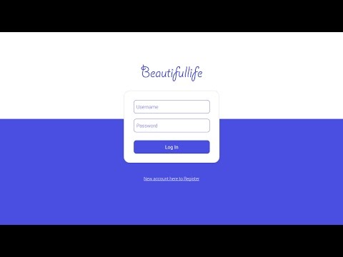 Login Page using Sketch App and HTML CSS Tutorial