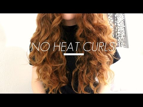 How I Curl My Hair || No Heat