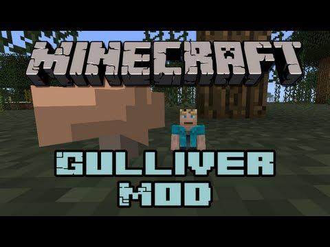 Minecraft: Gulliver Mod | (Giant Mobs! , Tiny Mobs! :o)