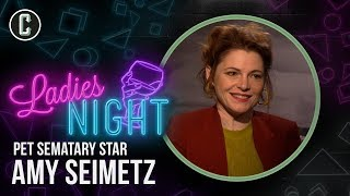 Download Why Pet Sematary's Amy Seimetz Is Your New Favorite - Ladies Night Video
