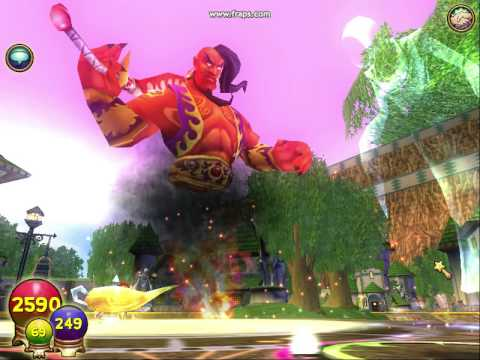 Wizard101: Level 58 Fire Spell, Efreet
