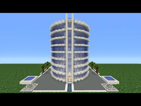Minecraft Tutorial: How To Make A Modern Hotel -  2
