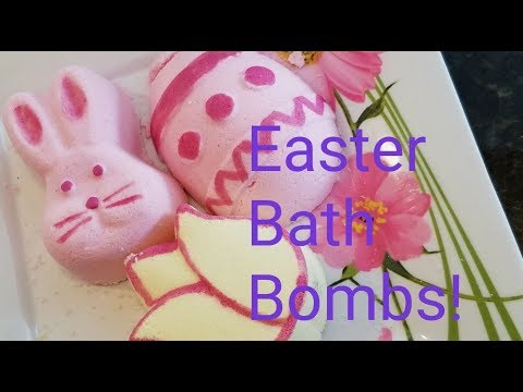 Easter Bath Bombs and Dried Herb and Flower Review