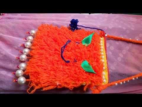 DIY Handmade Purse    How to make woolen purse    DIY Stylish Beaded Purse    DIY Purse Tutorials